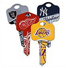 NHL Licensed Team Keys